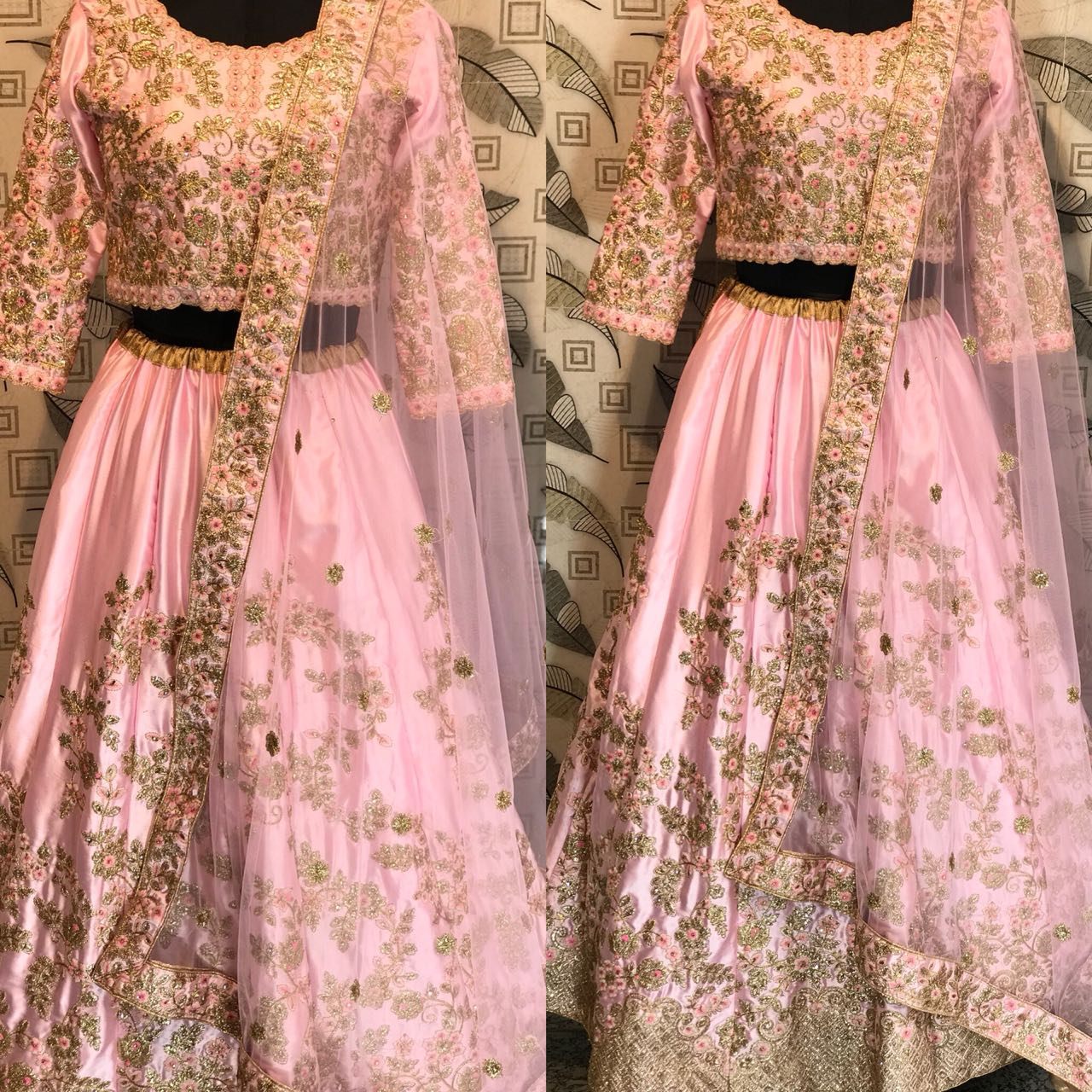 Spring SS18 Bridal Lehenga Collection 835