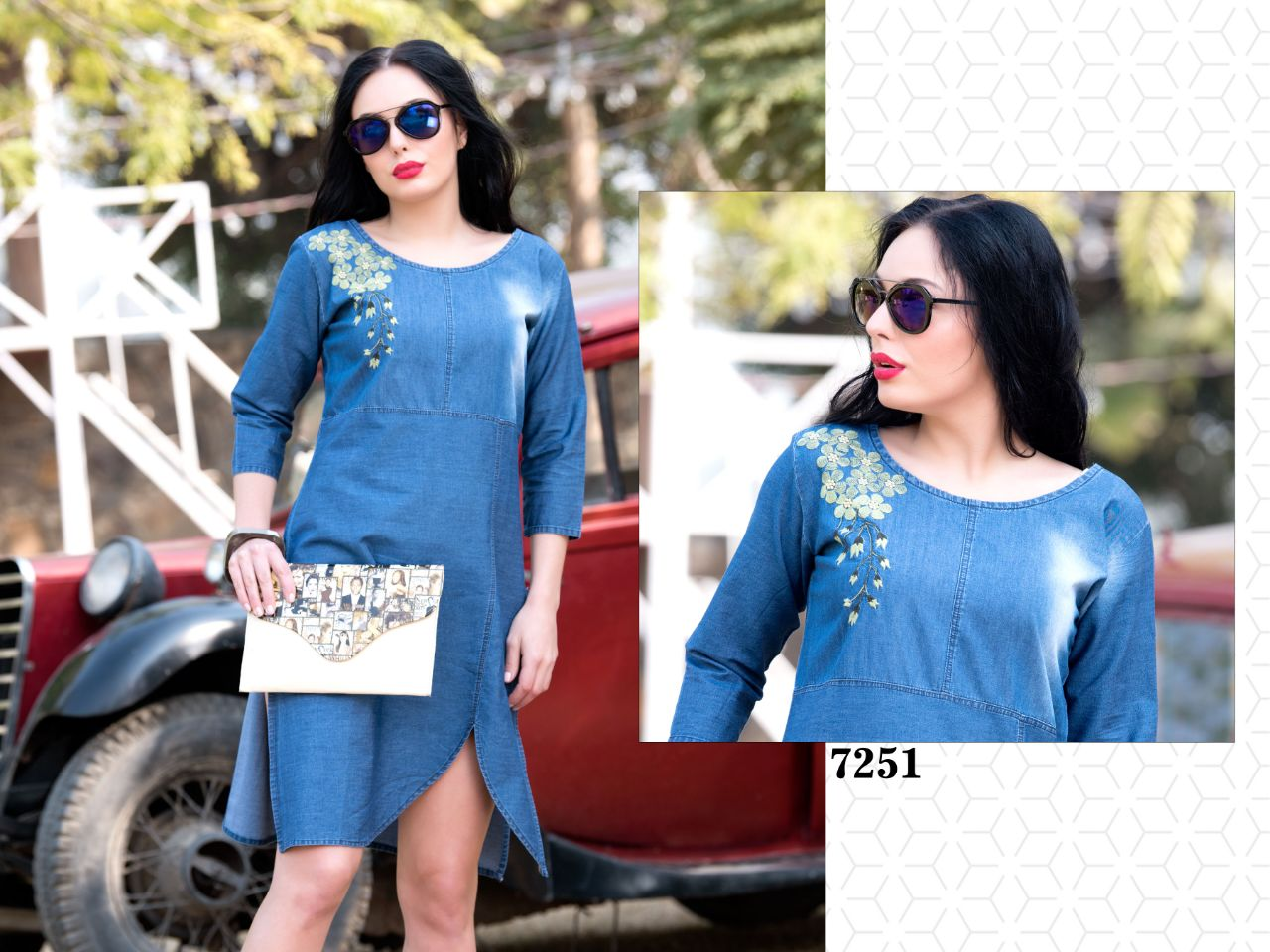 Varun Indigo Denim 7251