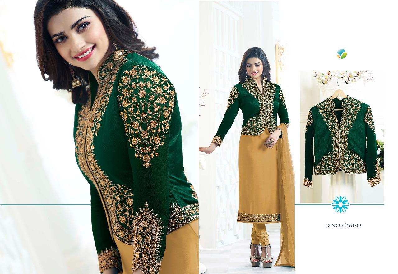 Vinay Fashion LLP Kassesh Maharani Colorplus 5461O