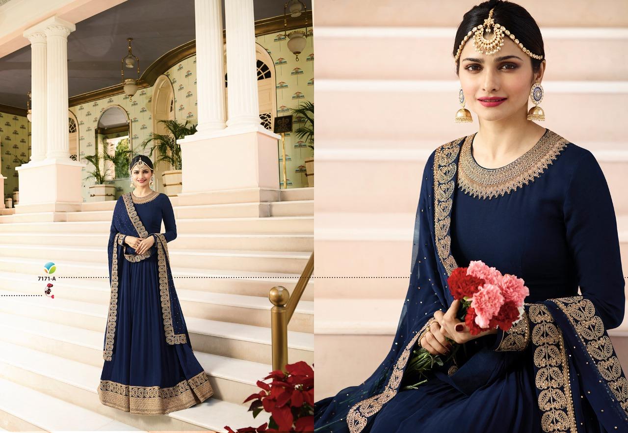 Vinay Fashion LLP Kaseesh Rajmahal Rang Plus 7171A