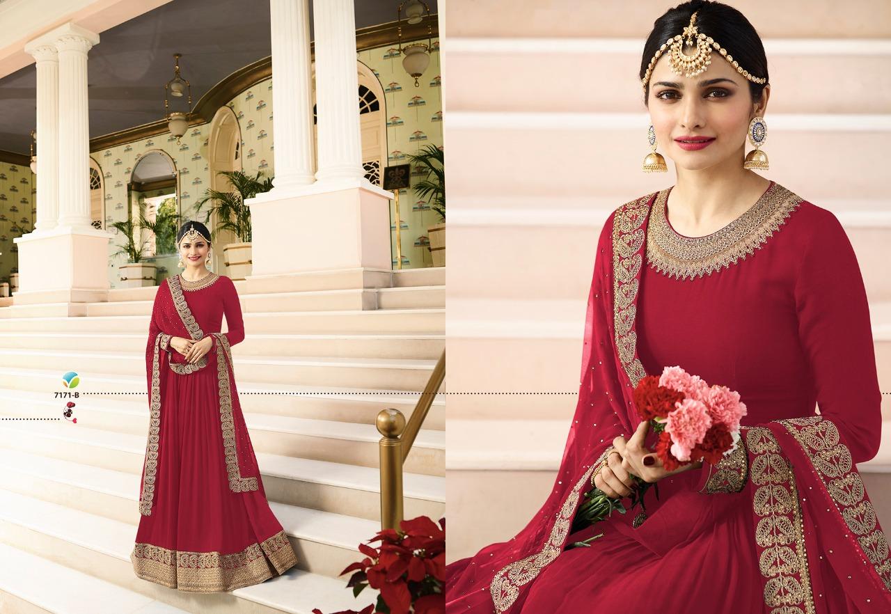 Vinay Fashion LLP Kaseesh Rajmahal Rang Plus 7171B
