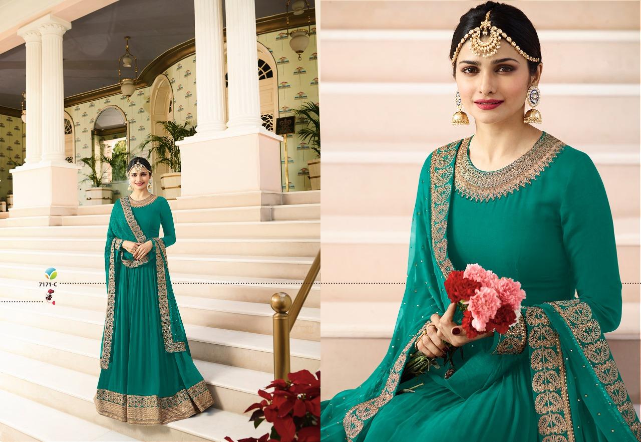 Vinay Fashion LLP Kaseesh Rajmahal Rang Plus 7171C