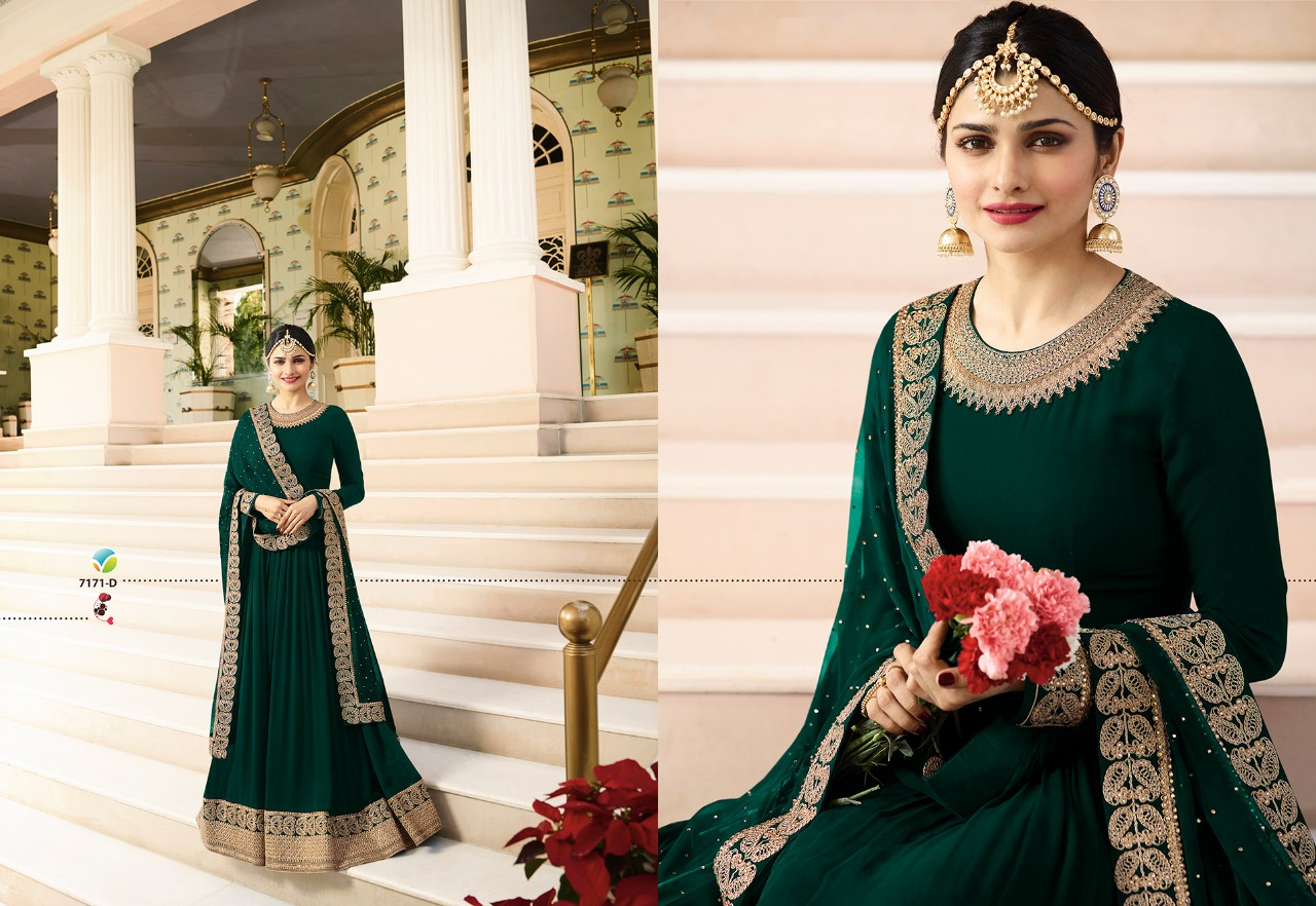 Vinay Fashion LLP Kaseesh Rajmahal Rang Plus 7171D
