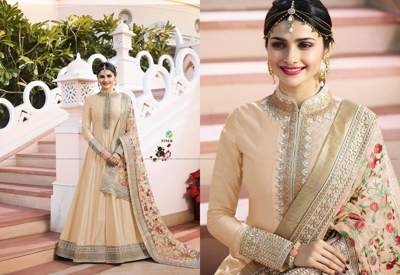Vinay Fashion LLP Kaseesh Rajmahal Rang Plus 7174B