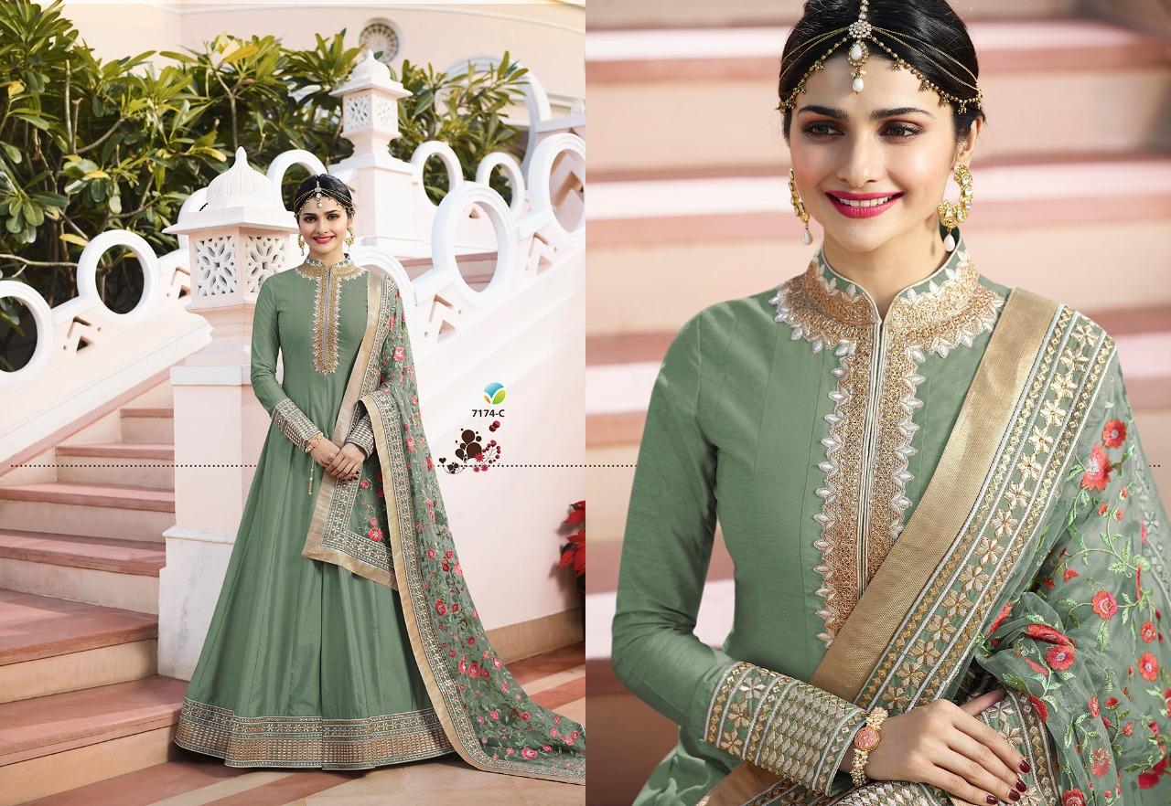 Vinay Fashion LLP Kaseesh Rajmahal Rang Plus 7174C