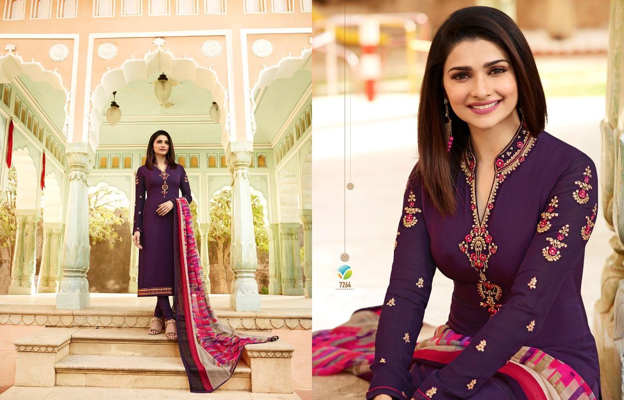 5beff0bf56 Silkina Royal Crepe Vol 15 Designer Salwar Suits By VINAY FASHION ...