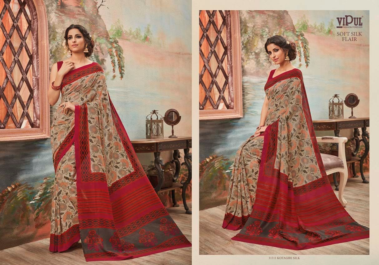 Vipul Soft silk flair 31311