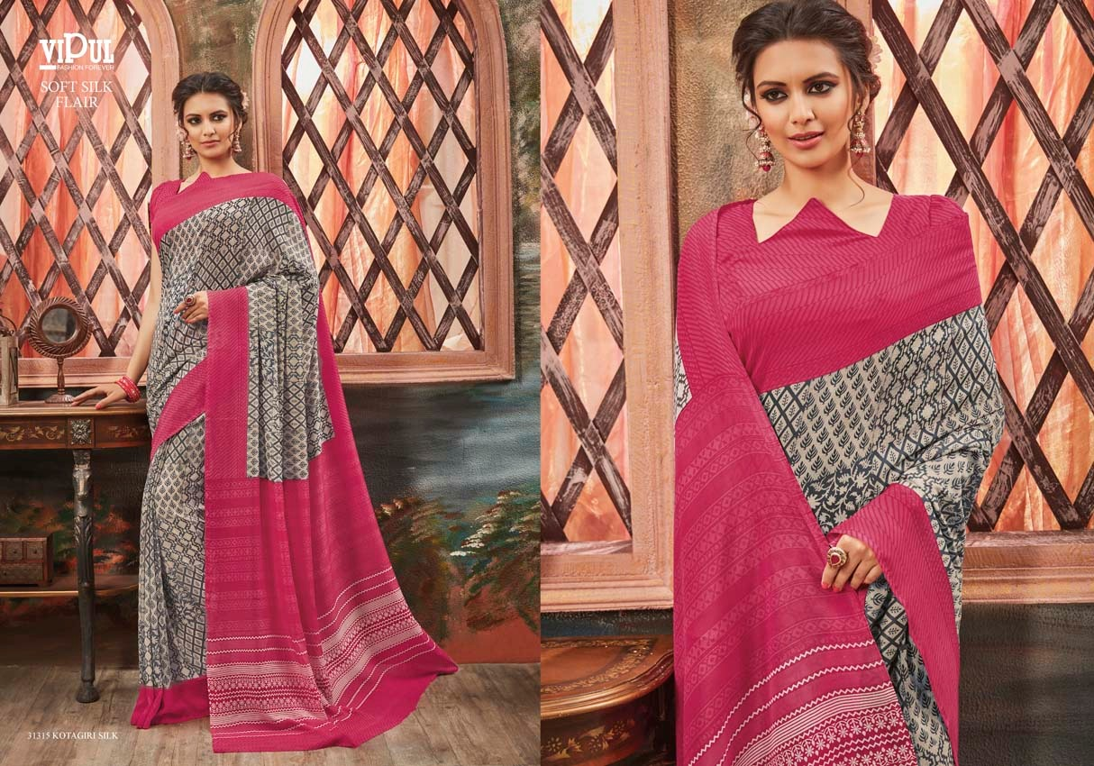 Vipul Soft silk flair 31315