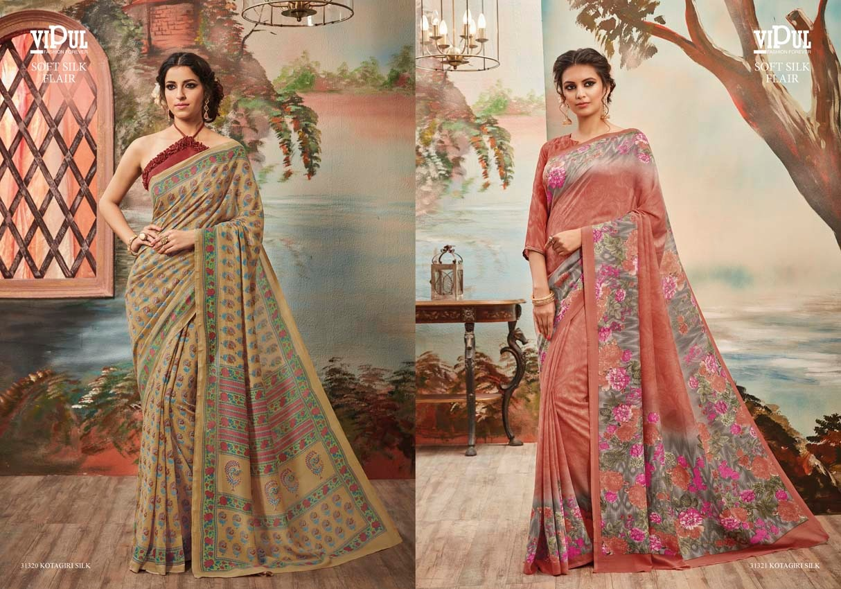 Vipul Soft silk flair 31321