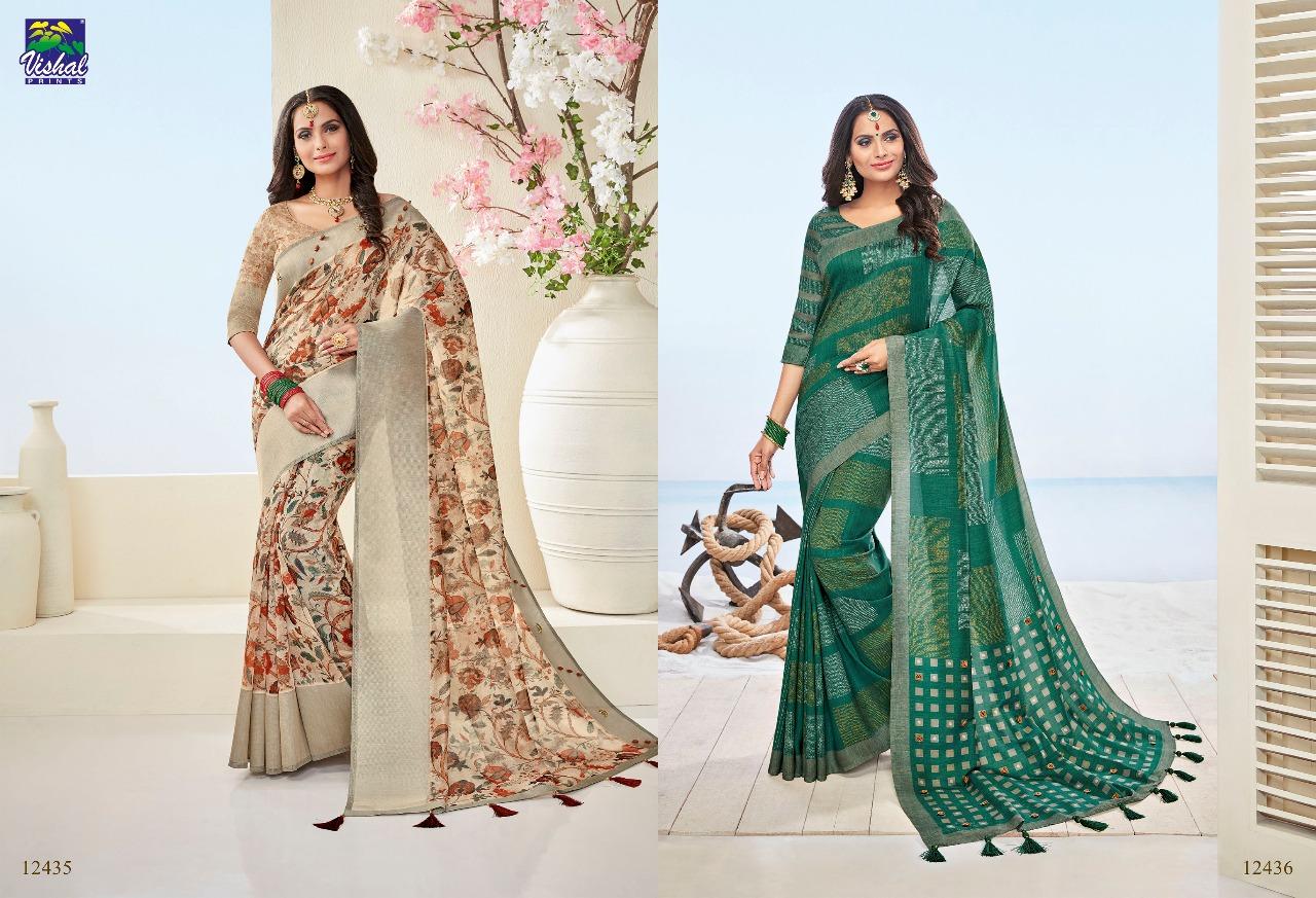 Vishal Fashion Nakshika 12435 12436