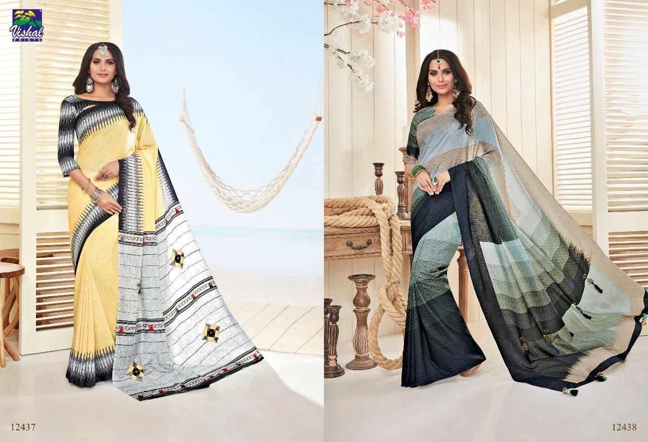 Vishal Fashion Nakshika 12437 12438