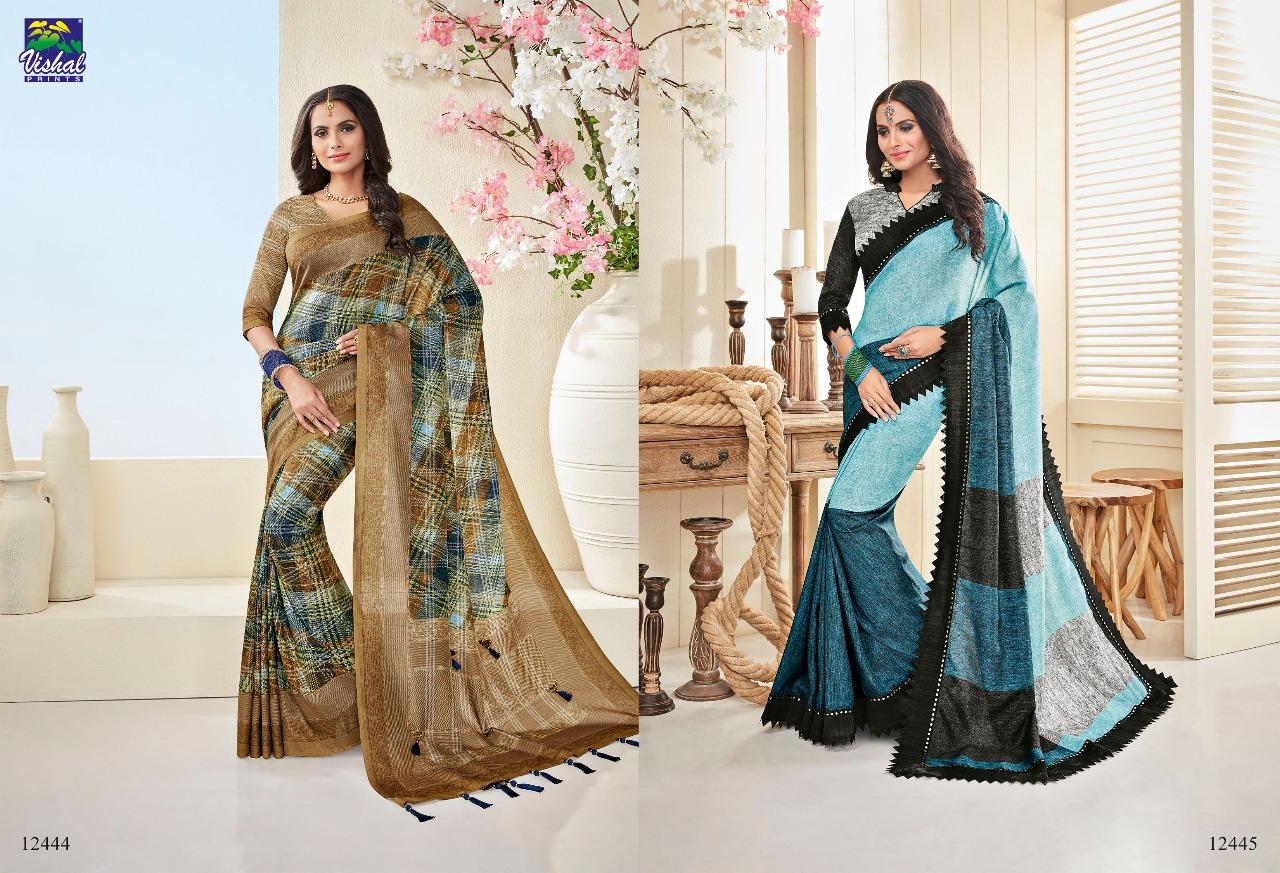 Vishal Fashion Nakshika 12444 12445