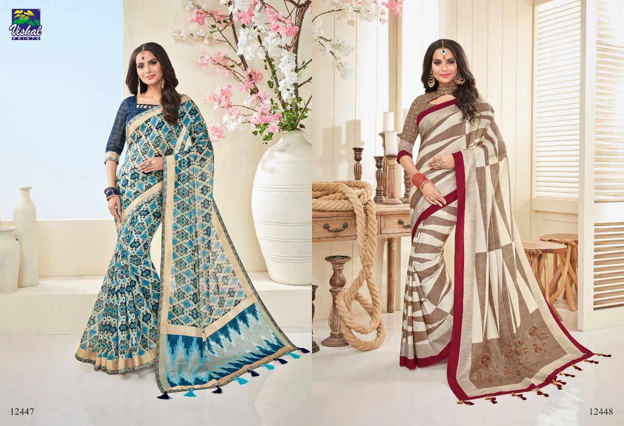 Vishal Fashion Nakshika 12447 12448