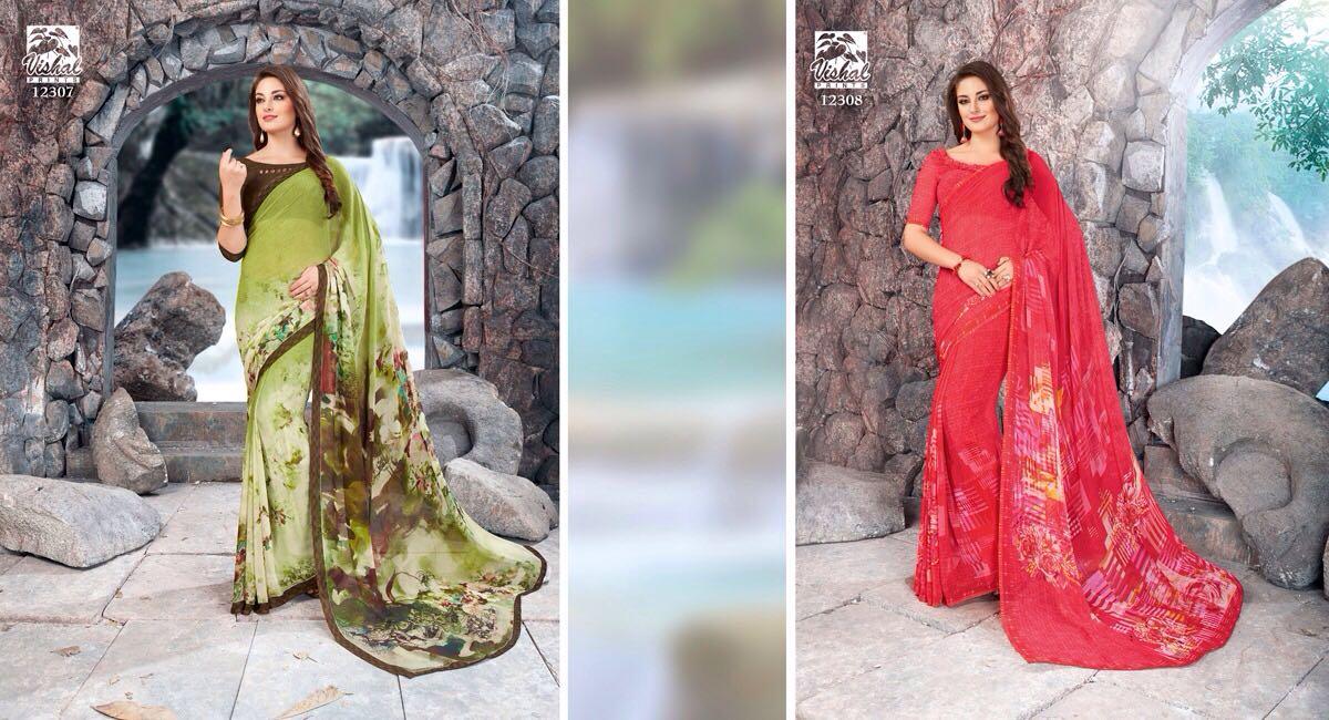 Vishal Fashion Sukirti 12307 12308