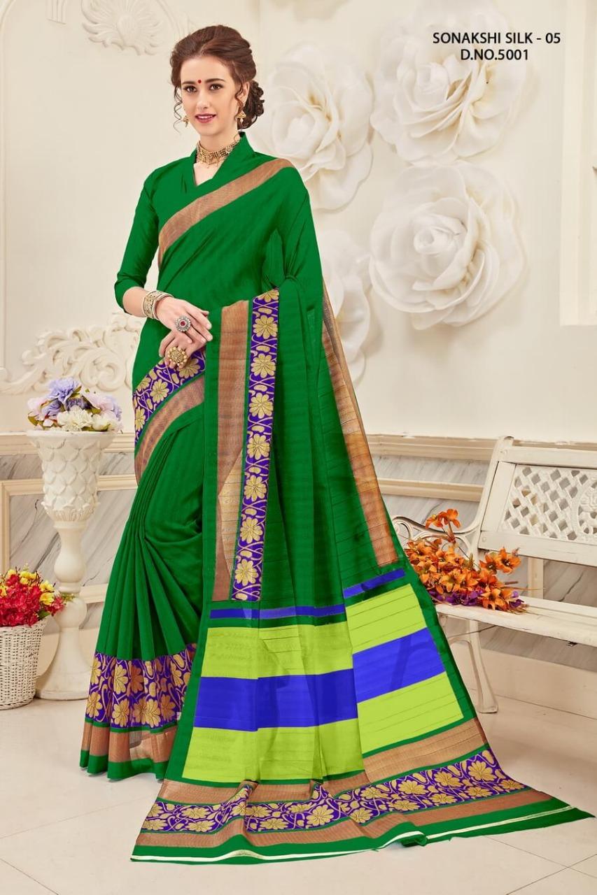 Yadu Nandan Fashion Sonakshi Silk 5001
