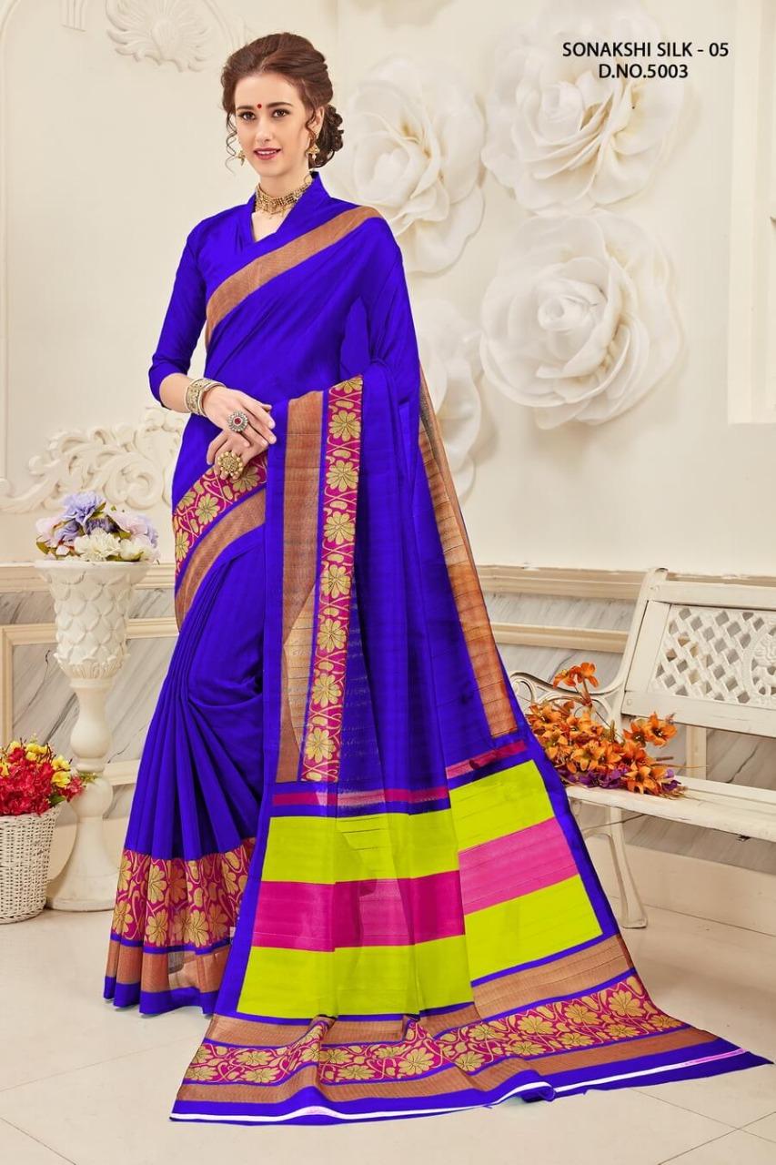 Yadu Nandan Fashion Sonakshi Silk 5003