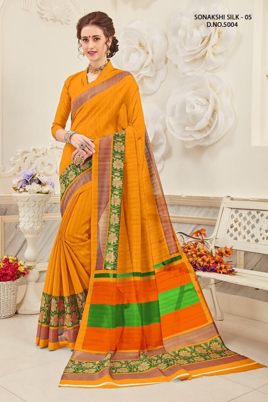 Yadu Nandan Fashion Sonakshi Silk 5004