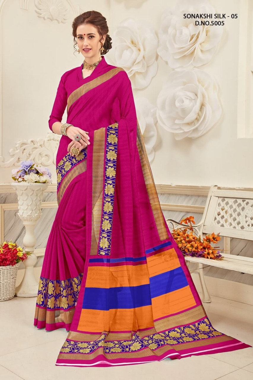 Yadu Nandan Fashion Sonakshi Silk 5005