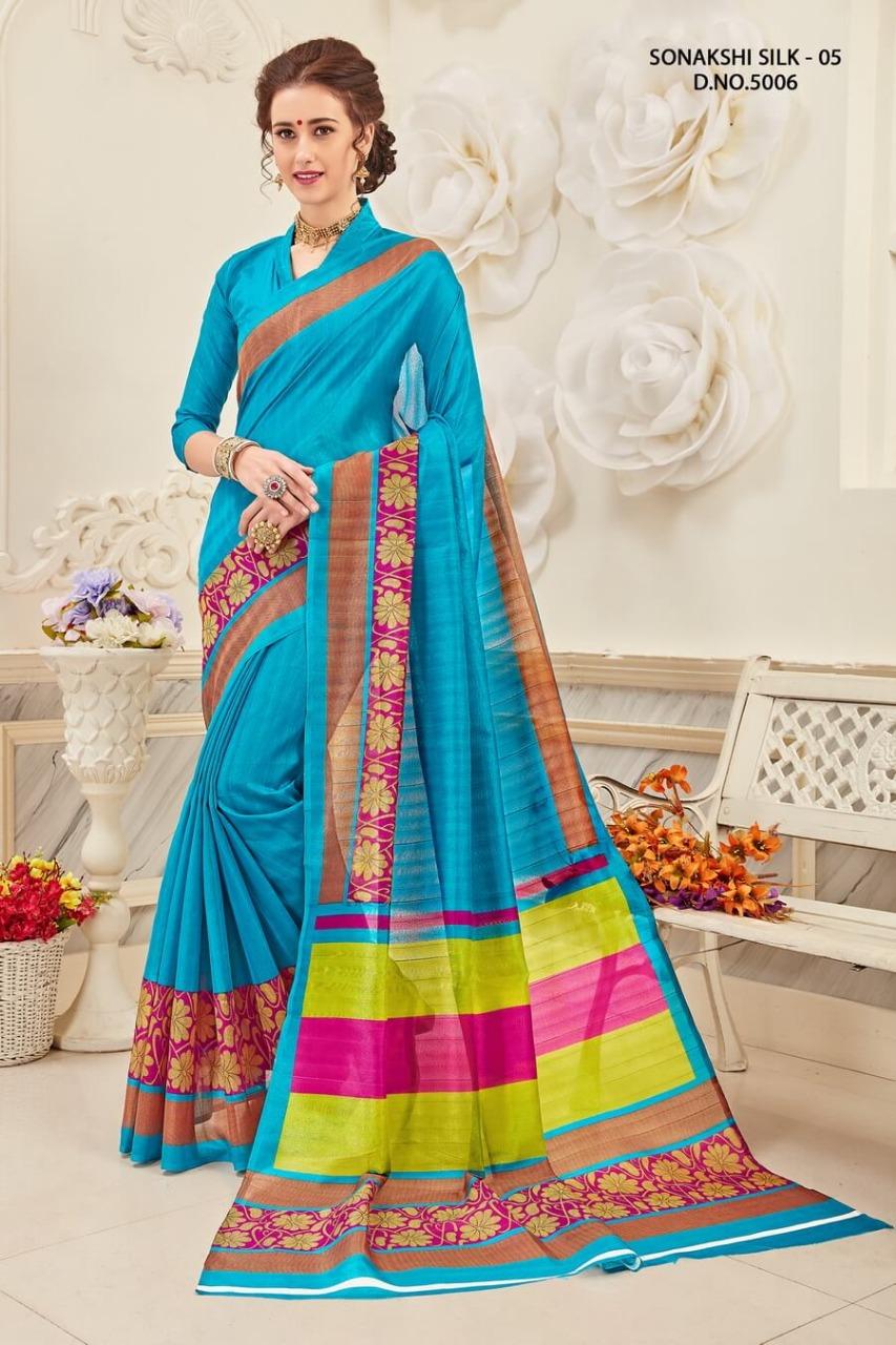 Yadu Nandan Fashion Sonakshi Silk 5006