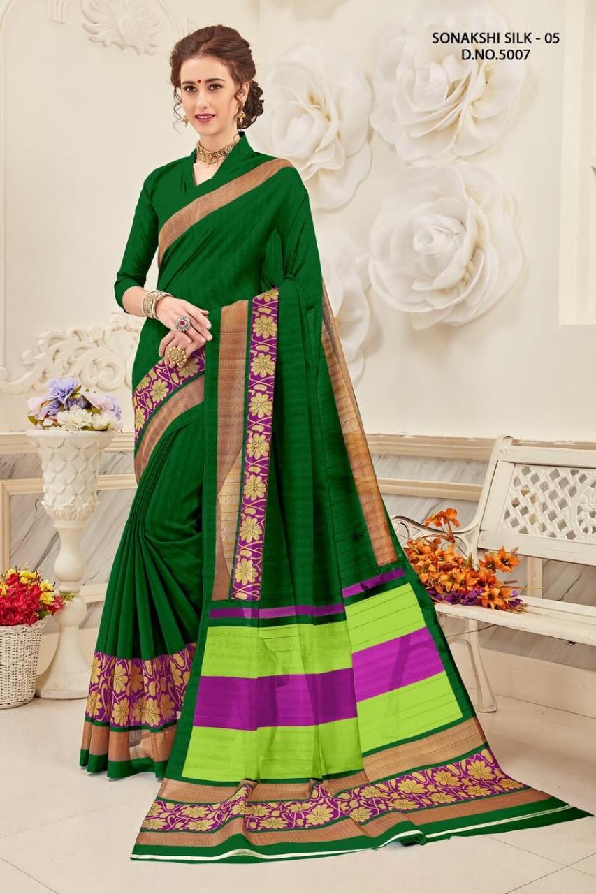 Yadu Nandan Fashion Sonakshi Silk 5007