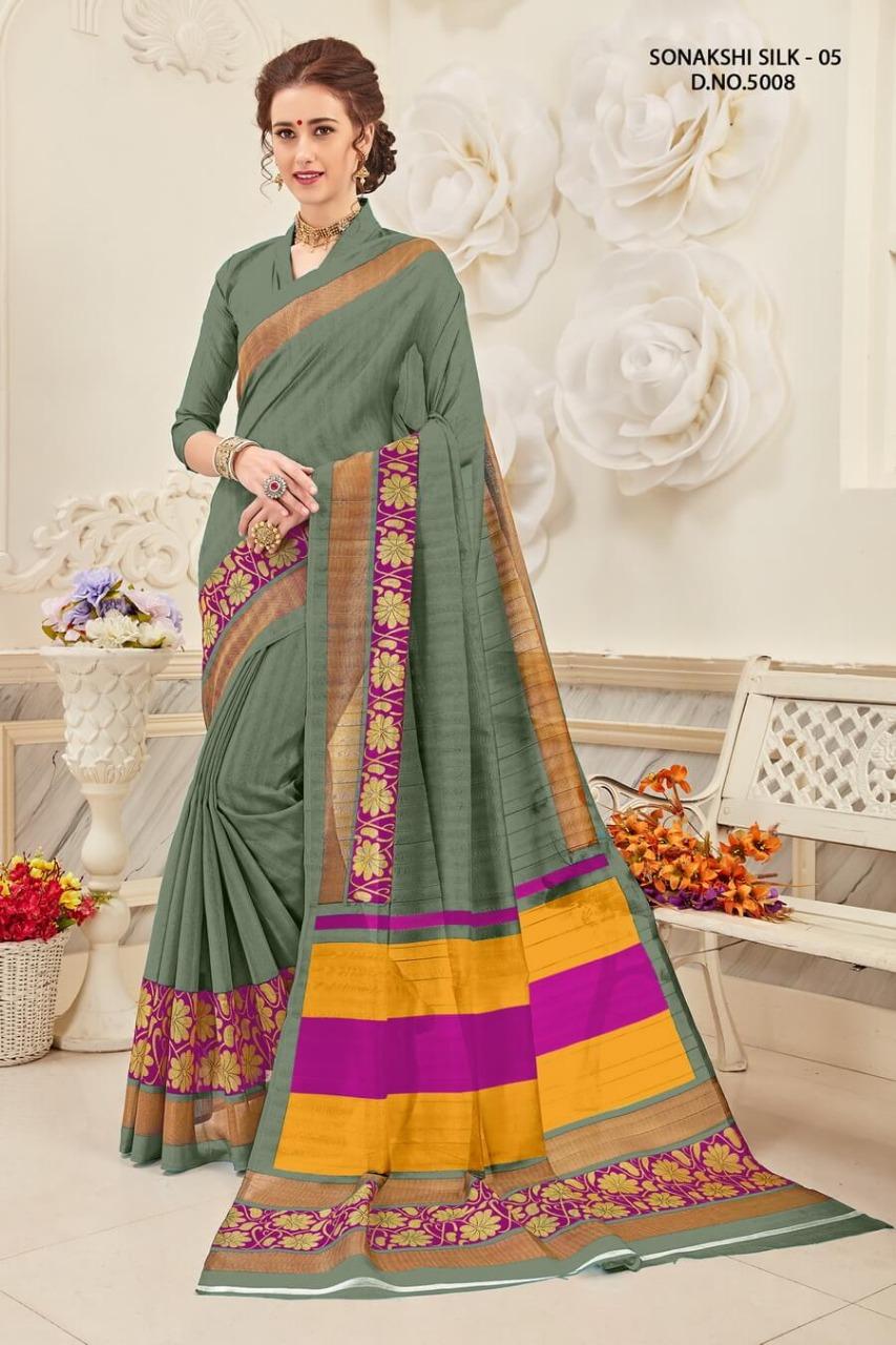 Yadu Nandan Fashion Sonakshi Silk 5008