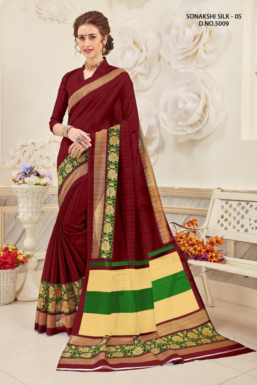 Yadu Nandan Fashion Sonakshi Silk 5009