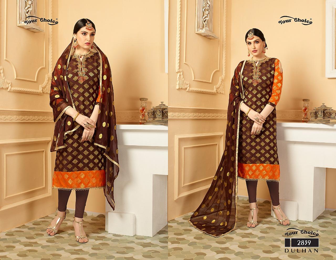 Your Choice Dulhan Pure Banarasi 2839