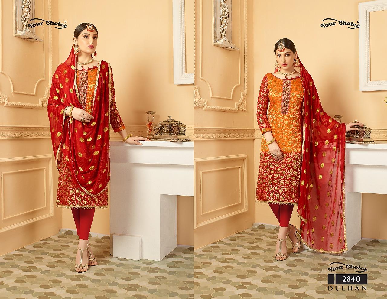 Your Choice Dulhan Pure Banarasi 2840